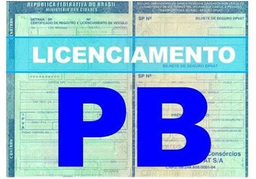 Detran PB IPVA: e licenciamento